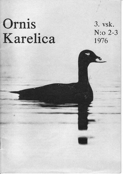 Ornis Karelica 1976-2