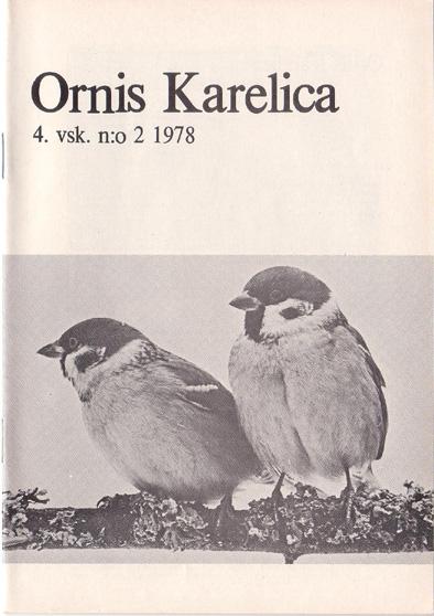 Ornis Karelica 1978-2