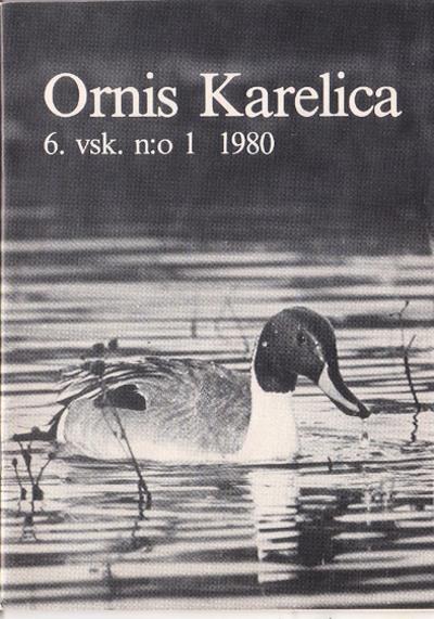 Ornis Karelica 1/1980