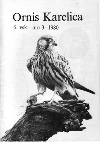 Ornis Karelica 3/1980