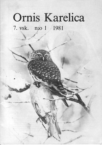 Ornis Karelica 1/1981