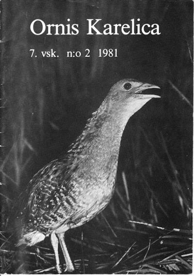 Ornis Karelica 2/1981