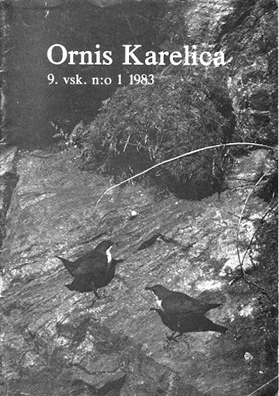 Ornis Karelica 1/1983