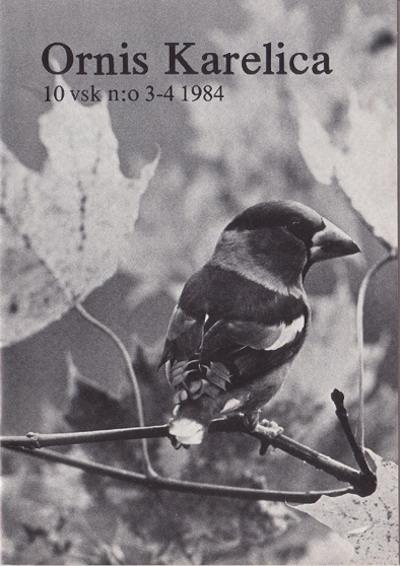 Ornis Karelica 3–4/1984