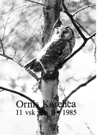 Ornis Karelica 1/1985