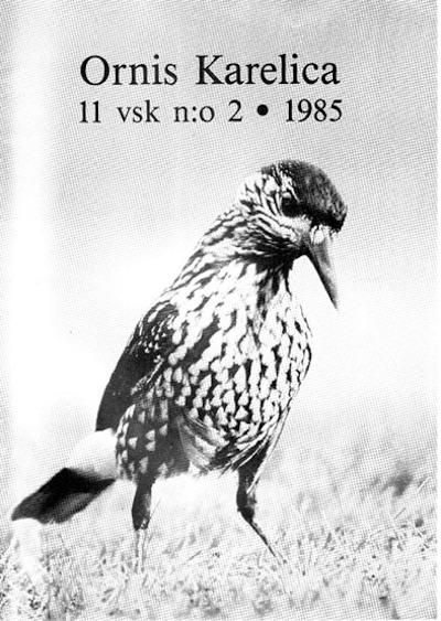 Ornis Karelica 2/1985