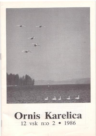 Ornis Karelica 2/1986