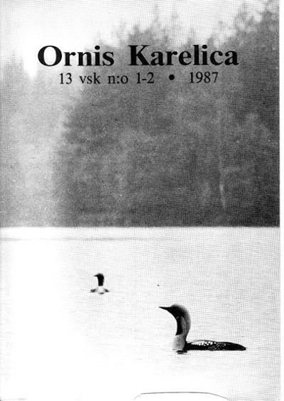 Ornis Karelica 1987