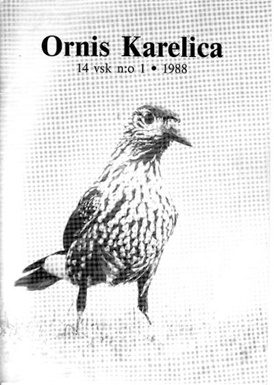 Ornis Karelica 1988